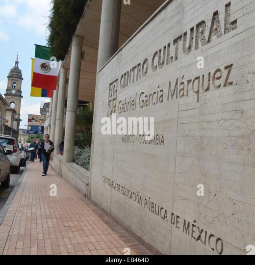 The Centro Cultural Gabriel Garcia Marquez in the La Candelaria district of central Bogota, Colombia - Stock Image