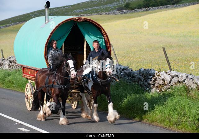 Wonderful Horse Drawn Caravan  Flickr  Photo Sharing