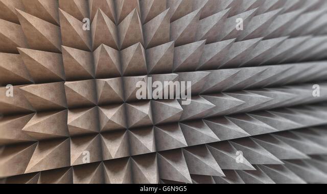 Abstract concrete structure - 3D illustration - Stock-Bilder