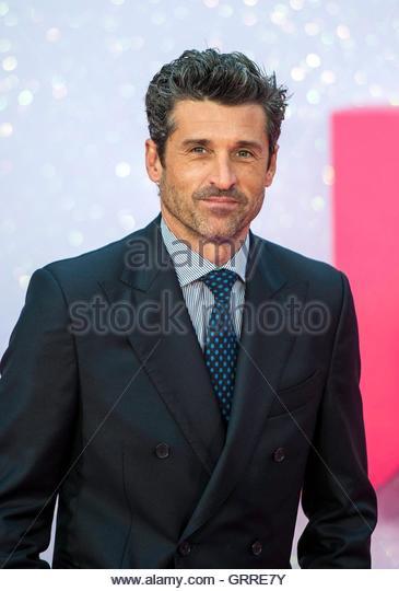 epa05525924 US actor/cast member Patrick Dempsey arrives for the wold premiere of 'Bridget Jones's Baby' - Stock Image
