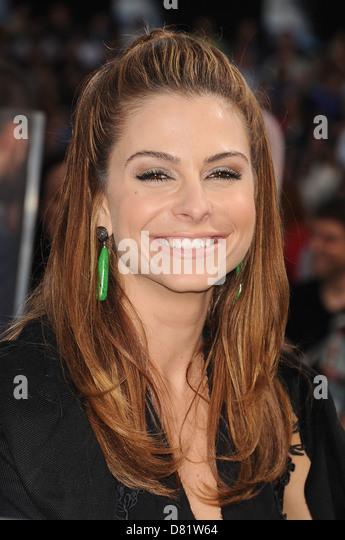 MELINA MENOUNOS US TV personality - Stock Image