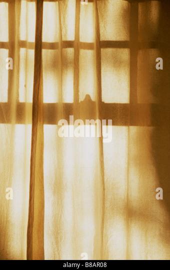 Curtain Window - Stock-Bilder