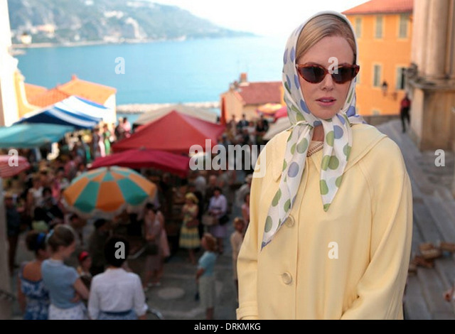 GRACE OF MONACO 2014 Weinstein Company film with Nicole Kidman - Stock Image