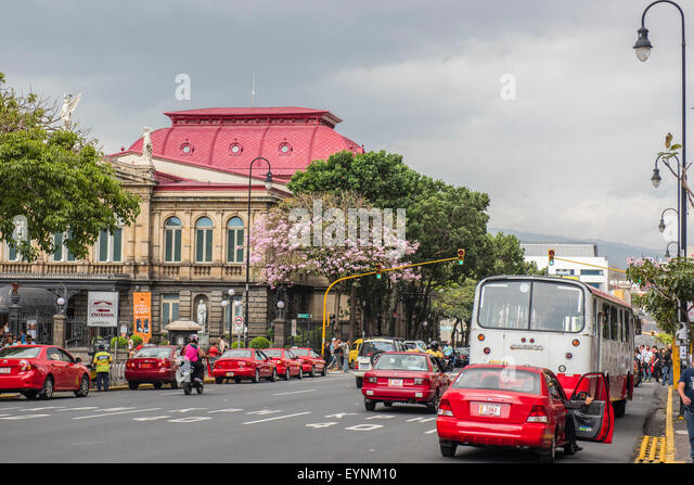 The National Theatre, San Jose, Costa Rica - Stock Image