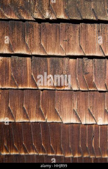 Exterior Wall Shingles : Wood shingle stock photos images alamy