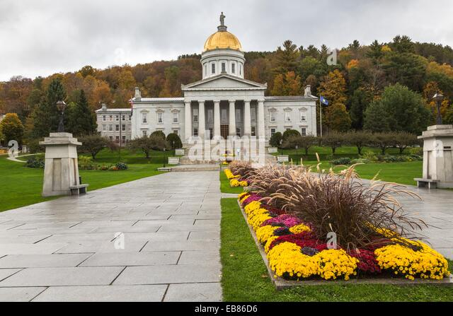 Vermont state capital building stock photos vermont for Building a house in vermont