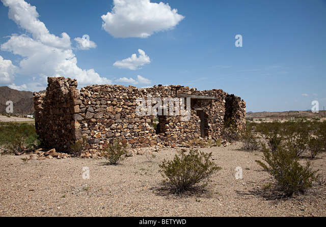 Desert usa house stock photos desert usa house stock for Big bend motor lodge study butte tx