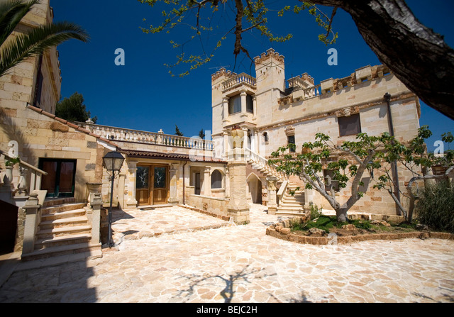 Cellino San Marco Italy  city pictures gallery : Tenute Al Bano Carrisi, Cellino San Marco, Puglia, Italy Stock Image
