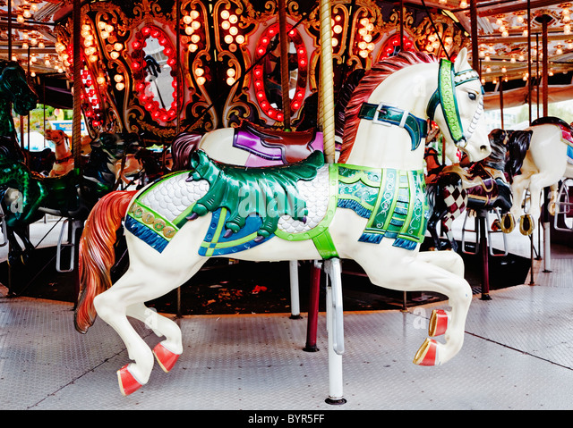 Carousel Horse Stock Photos & Carousel Horse Stock Images ...
