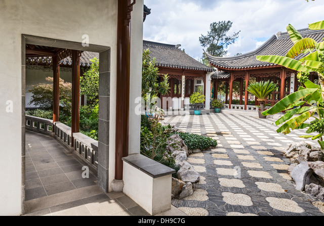 Beautiful Chinese Garden Huntington Library Stock Photos Beautiful Chinese Garden Huntington
