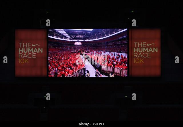 Nike London race, Wembley Stadium 2008 - Stock Image