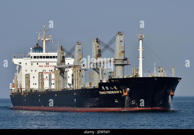Bulk Carrier Trans Friendship II - Stock Image