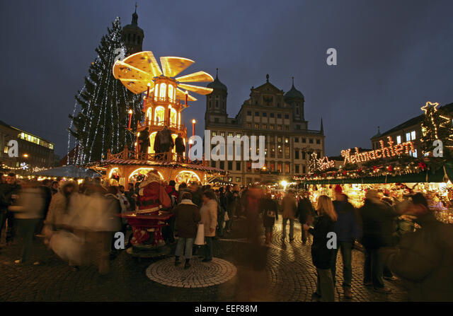 christmas market augsburg germany stock photos christmas market augsburg germany stock images. Black Bedroom Furniture Sets. Home Design Ideas