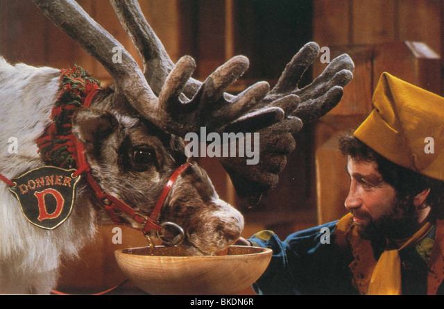 SANTA CLAUS: THE MOVIE -1985 - Stock-Bilder