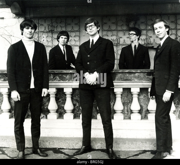 ZOMBIES Promotional photo of UK pop group in 1964 - Stock Image