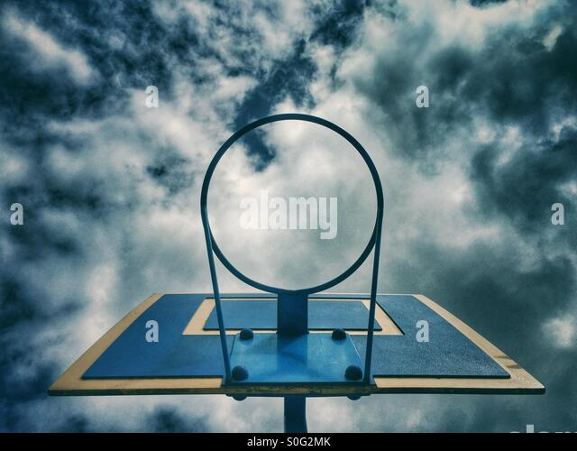 Basketball hoop - Stock-Bilder