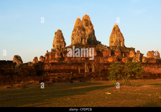 Ruins of Ta Keo temple dating from the 10th century, Angkor, UNESCO World Heritage Site, Siem Reap, Cambodia, Indochina - Stock-Bilder