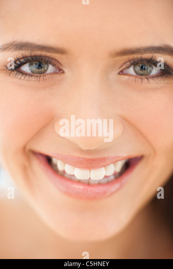 Healthy teenage girl - Stock Image