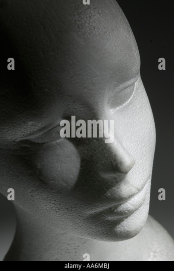a false face - Stock Image