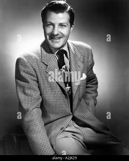CHARLIE BARNET American band leader in 1930s and 40s - Stock Image