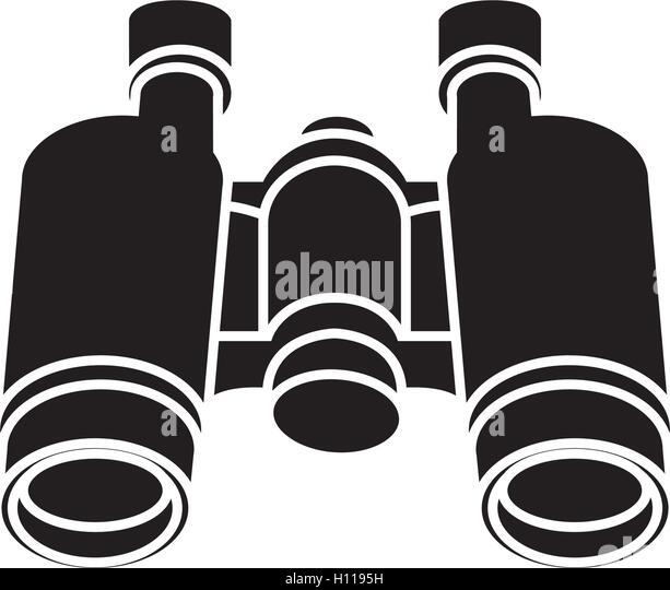 binoculars icon flat - photo #49