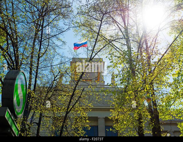 Russische Botschaft in Berlin - Stock-Bilder