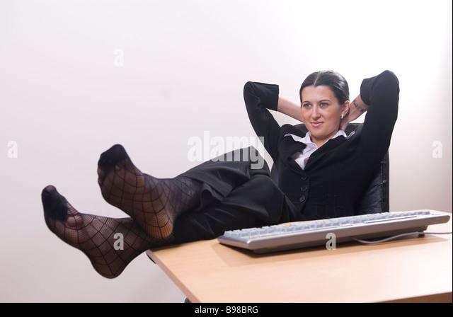 Office secretary in stockings fucked on desk - XVIDEOS. COM