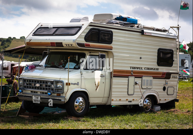 Chevrolet ChevyVan Travel Cruiser in UK - Stock-Bilder