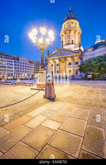 Historic Gendarmenmarkt Square in Berlin, Germany. - Stock-Bilder