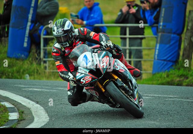 Ulster Grand Prix 2017, Dundrod, Nordirland Stockbild