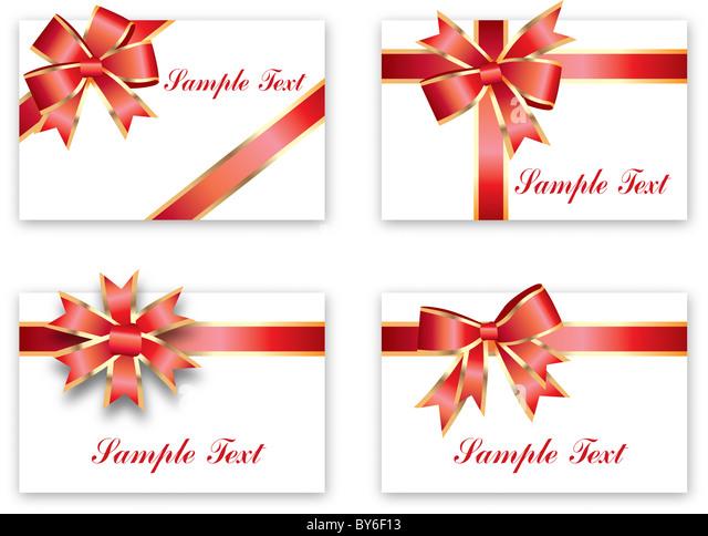 greeting card sample - Stock Image