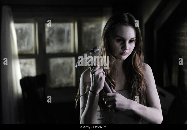 HAUNT (2013) LIANA LIBERATO MAC CARTER (DIR) MOVIESTORE COLLECTION LTD - Stock Image