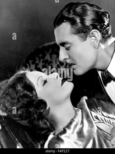 John Gilbert, Greta Garbo / A Woman Of Affairs 1928 directed by Clarence Brown - Stock Image