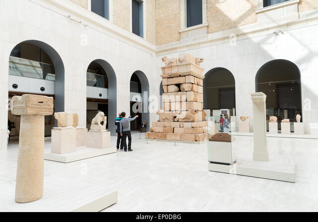 National Archaeological Museum of Spain, Madrid - Stock Image