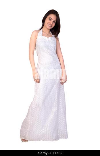 Christen bride in white gown MR#733C - Stock-Bilder