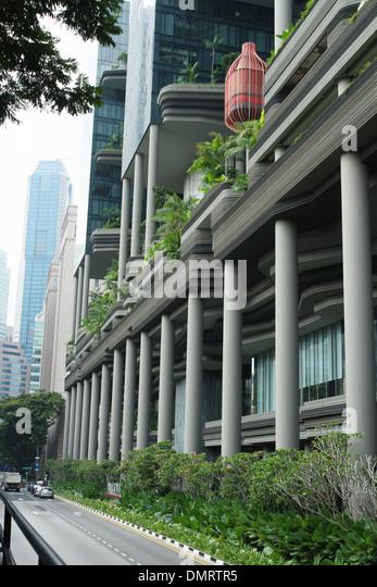 Park Royal Hotel on Pickering. Singapore. - Stock Image
