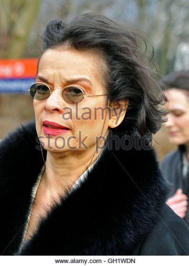 Human rights campaigner Bianca Jagger arrives to attend the extradition case of  WikiLeaks founder Julian Assange - Stock Image