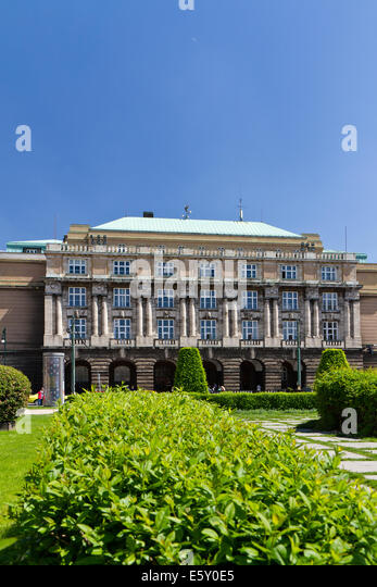 Filozofická fakulta Univerzity Karlovy, nám. Jana Palacha, Praha, ?eská republika - Stock-Bilder