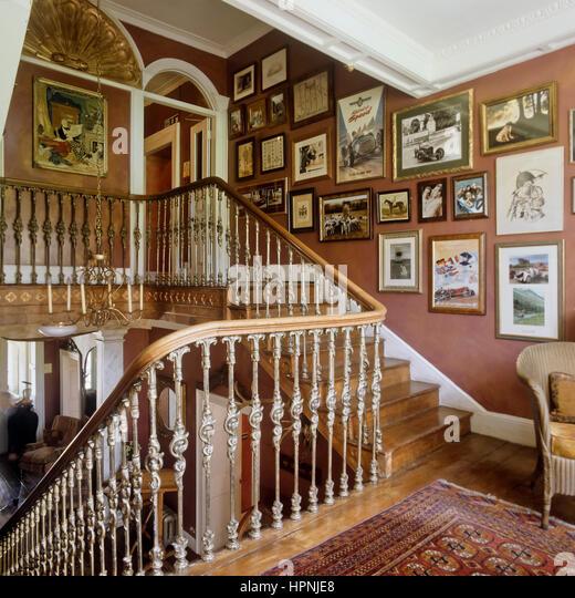 Victorian Staircase Stock Photos Victorian Staircase
