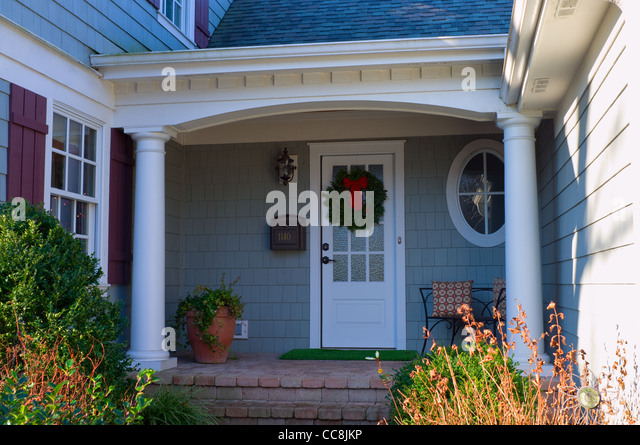 Front Entrance House Upscale Stock Photos & Front Entrance ...
