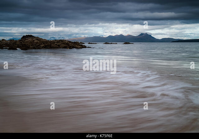 Mellon Udrigle beach in Wester Ross, Scotland, UK - Stock Image