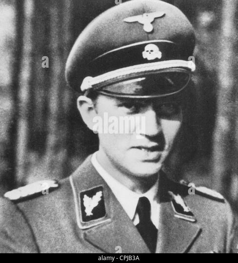 SS Leader Walter Schellenberg - Stock-Bilder