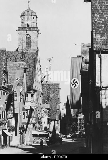 Nazi Flags - Stock-Bilder