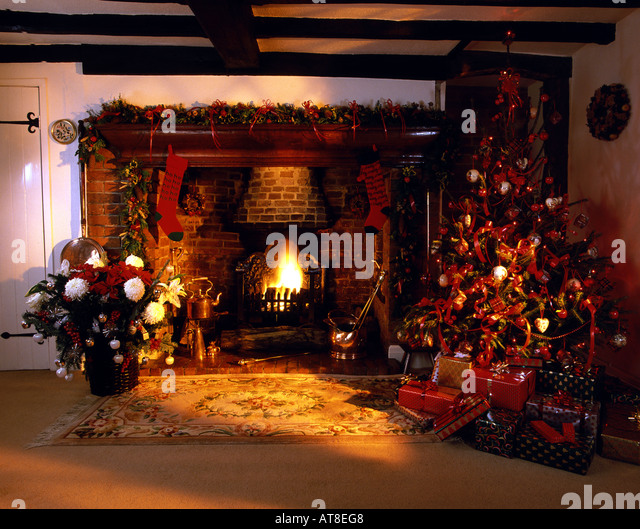 Inglenook Fireplace Stock Photos amp