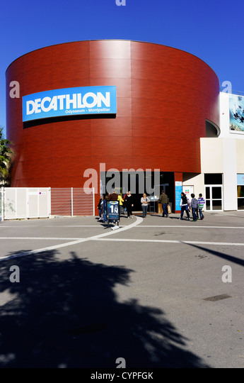 decathlon store stock photos decathlon store stock images alamy. Black Bedroom Furniture Sets. Home Design Ideas