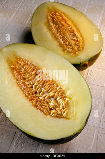 Piel de Sapo Melon - Stock Image