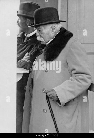 Georges Clemenceau, 1927 - Stock Image