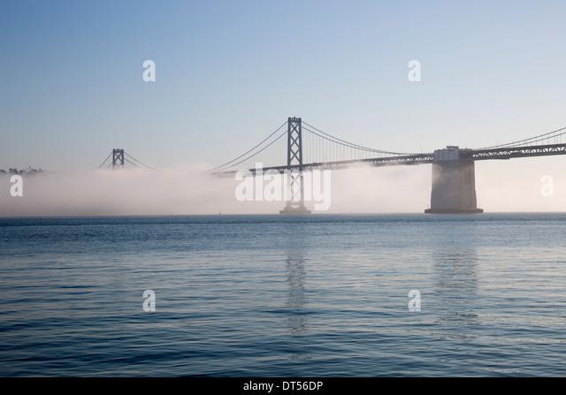 Oakland Bay Bridge - San Francisco - USA - Stock Image