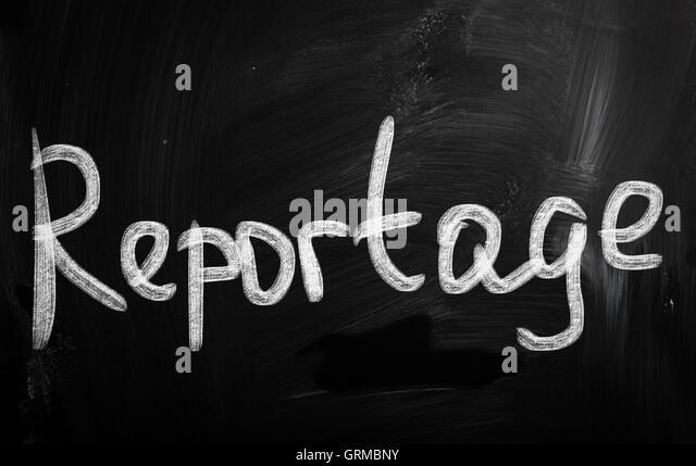 Reportage - Stock Image