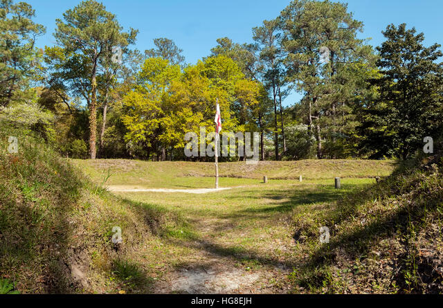 Fort Raleigh National Historic Site, Manteo, Roanoke Island, North Carolina - Stock Image
